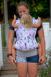 Rapunzel- Infant Soft Structured Baby Carrier
