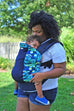 Starry Night w/ Koolnit Mesh- Toddler Soft Structured Child Carrier