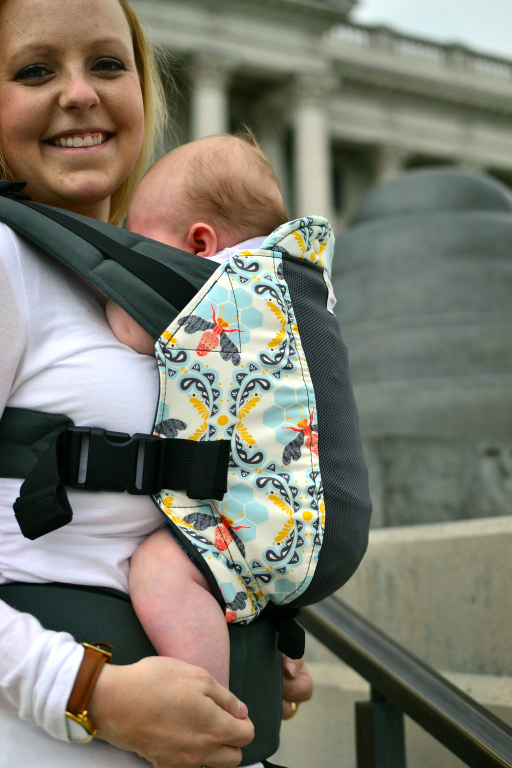Bee Sweet w/ Koolnit Mesh- Preschool Soft Structured Child Carrier