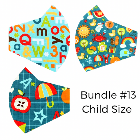 Solids Mask Bundle!- Youth size