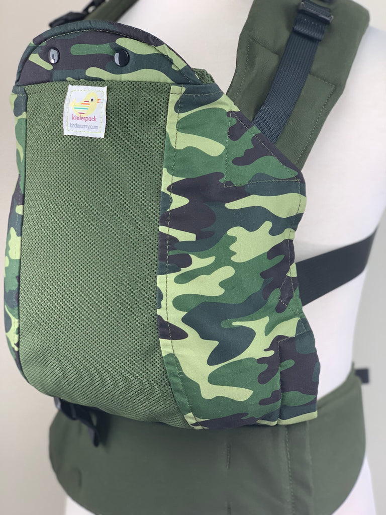 Camo with Koolnit- Infant Kinderpack