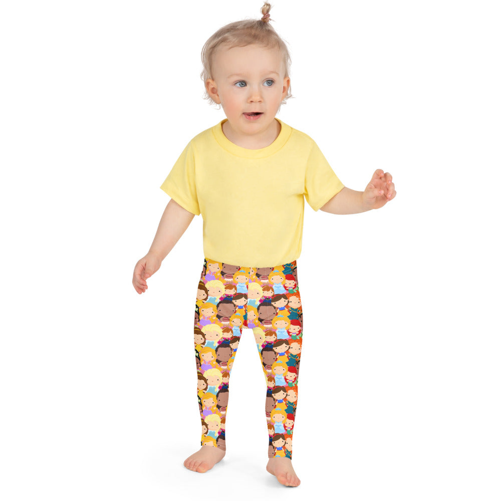 Princesses Galore- Little Kid's Leggings