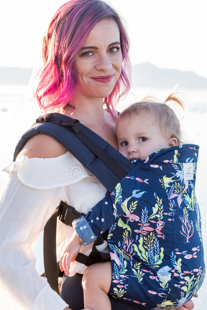 Under The Sea - Standard Soft Structured Baby Carrier