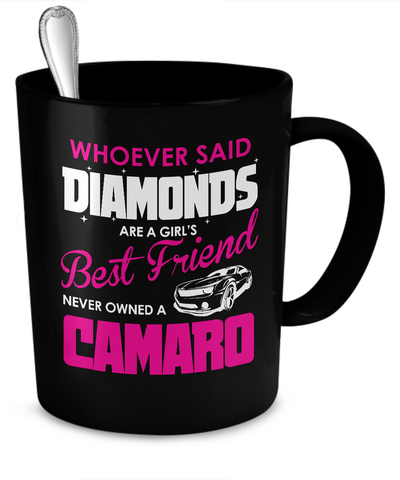 Coffee Mug - Camaro Girls Best Friend Mugs