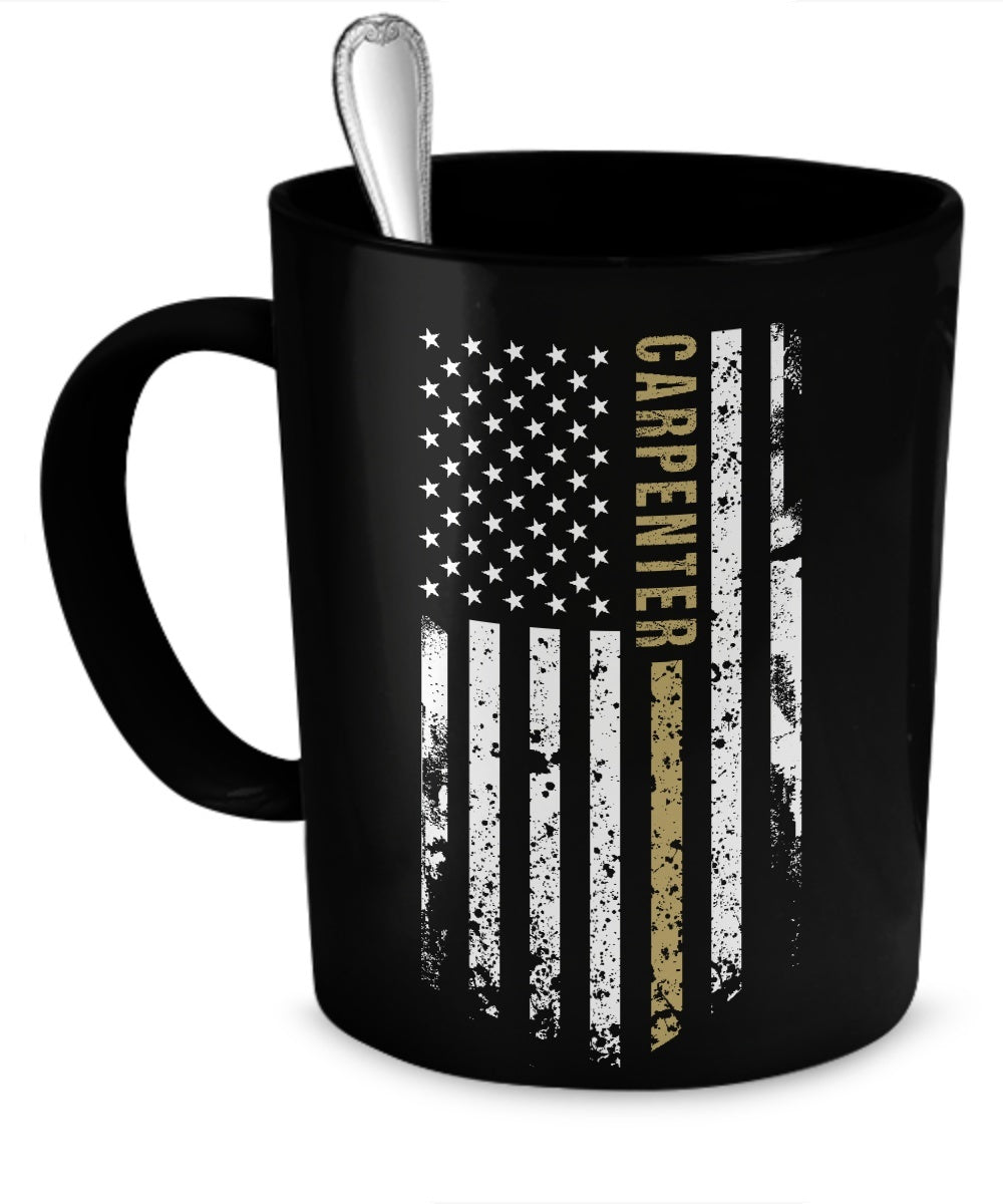 Coffee Mug - Carpenter Flag