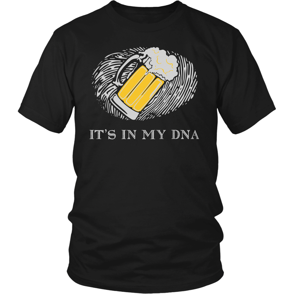 Beer Its In My DNA Shirt