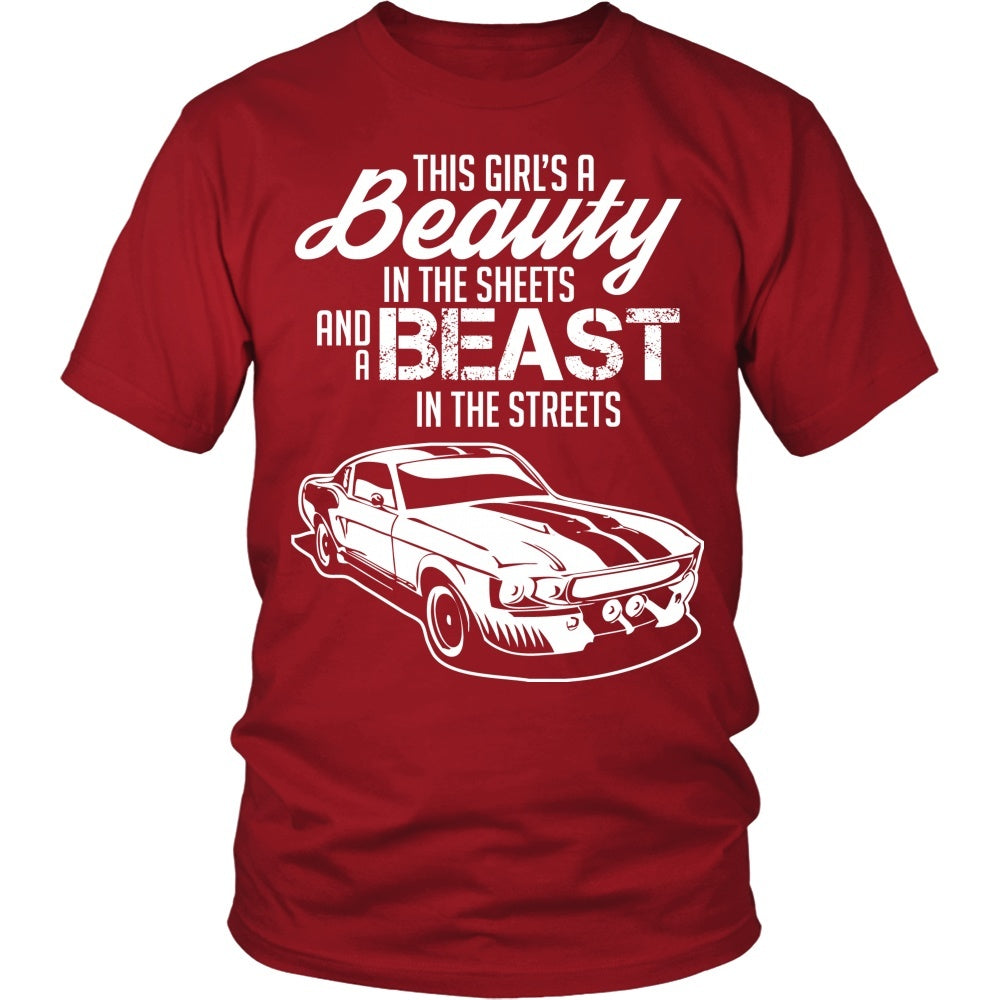 T-shirt - Beauty In The Sheets