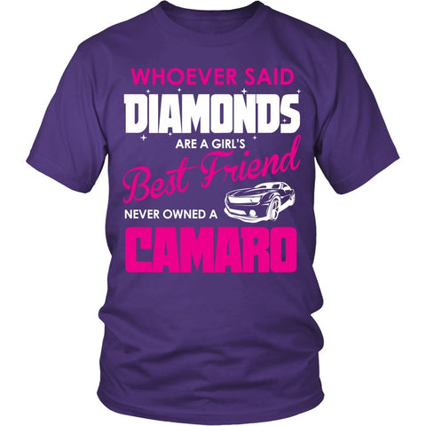 T-shirt - Camaro Girls Best Friend