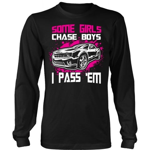 T-shirt - Camaro Some Girls Chase