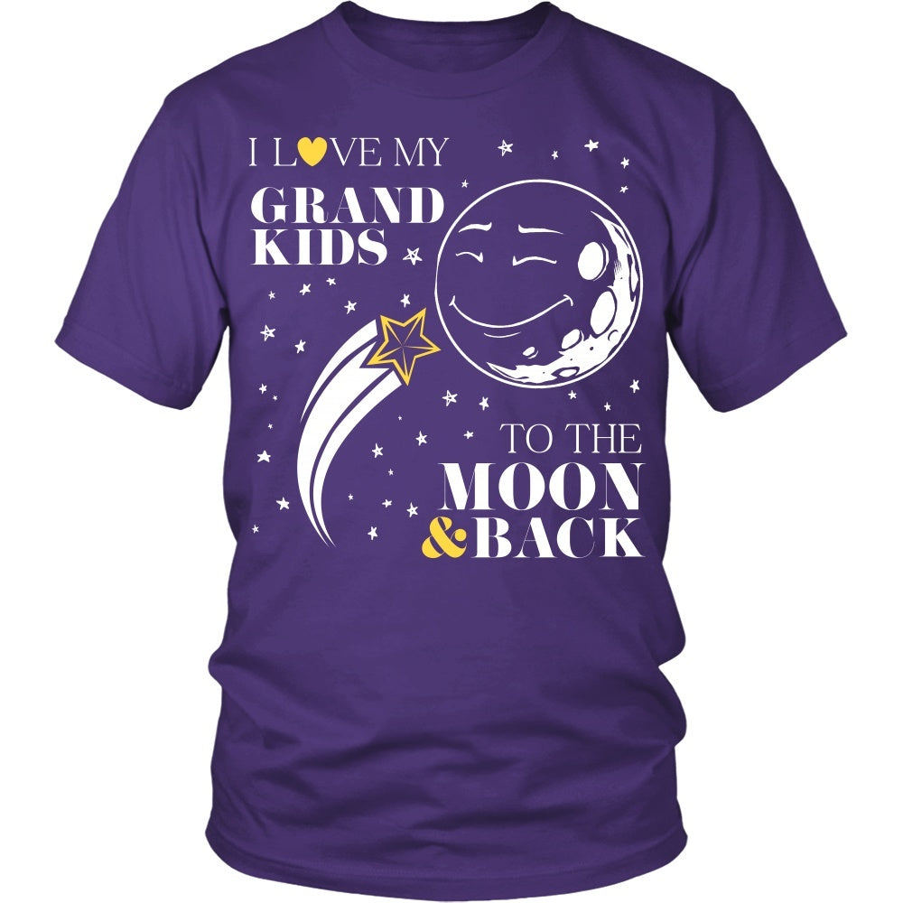 T-shirt - Grandmom To The Moon And Back