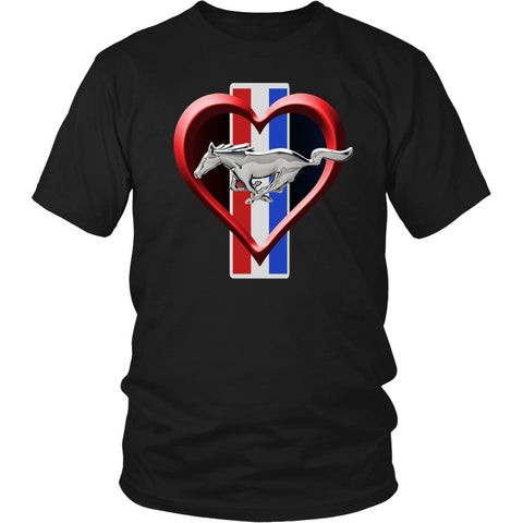 T-shirt - I Love My Mustang Shirt