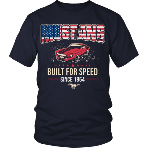 T-shirt - Mustang Built For Speed