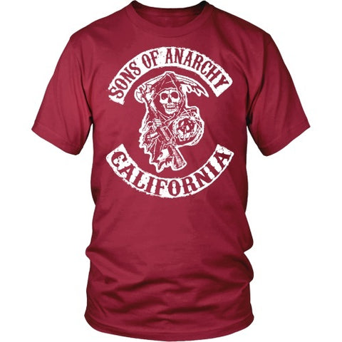 T-shirt - Sons Of Anarchy California