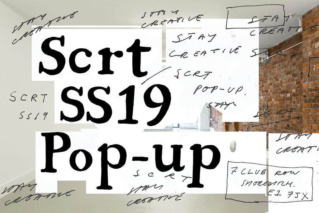 SCRT SS19 POP UP CLUB ROW