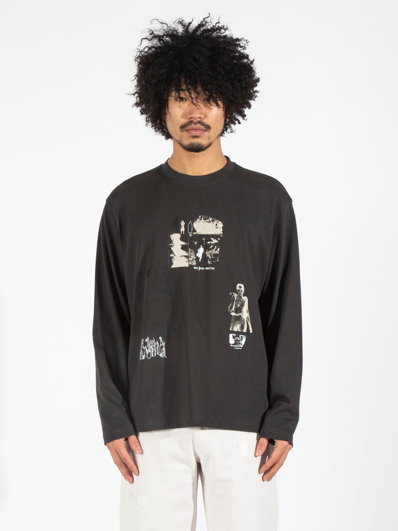 Replicant Long Sleeve - Washed Black