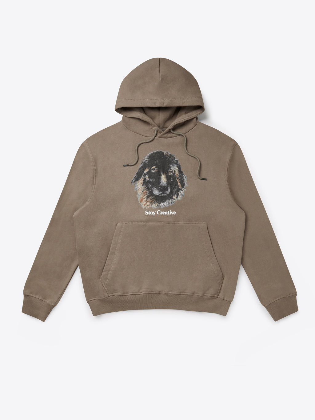Bo The Dog Hoodie - Fossil