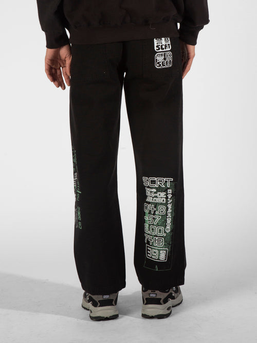 Morphology Set Trousers - Black