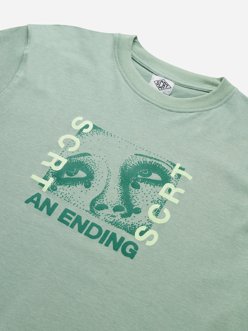 An Ending T-Shirt - Iceberg Green