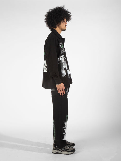Morphology Set Overshirt - Black