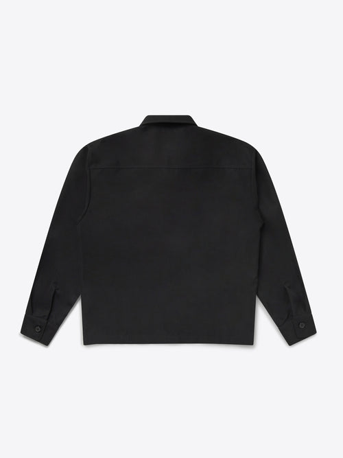 Pocket Set Overshirt - Black