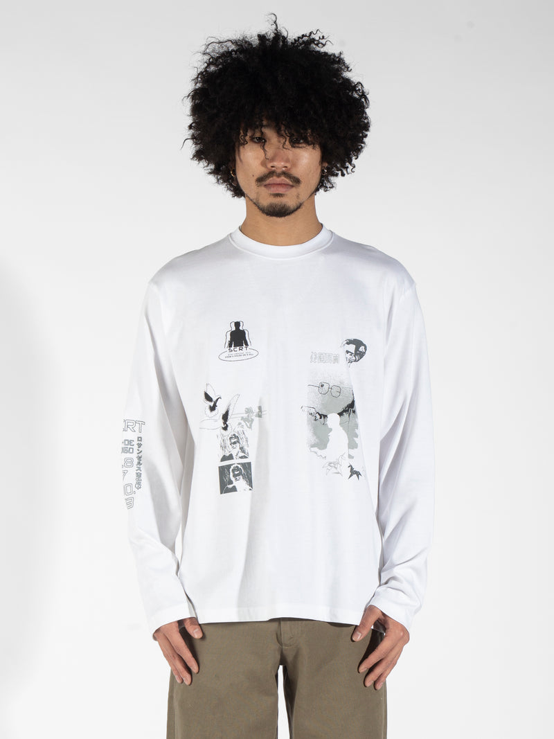 Tyrell Long Sleeve - White