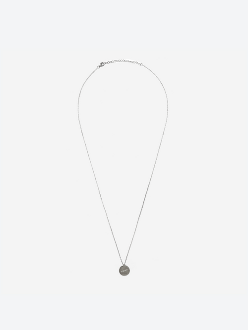 Pendant - Brushed Silver