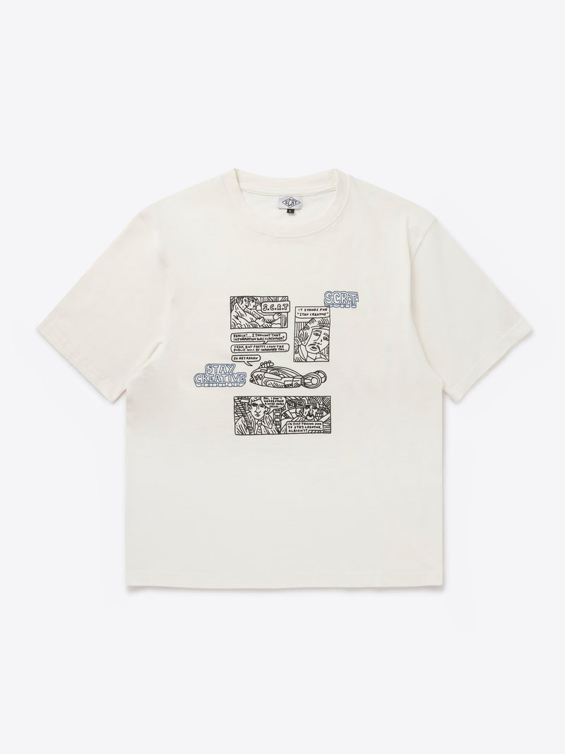 Comic T-Shirt - Jet Stream