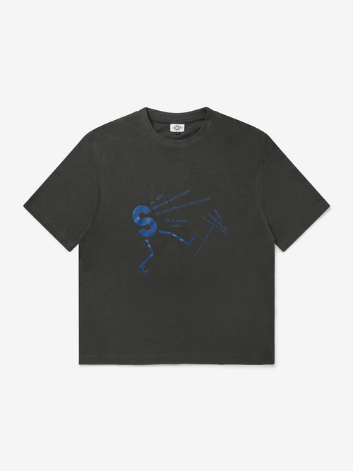 What Difference T-Shirt - Washed Black