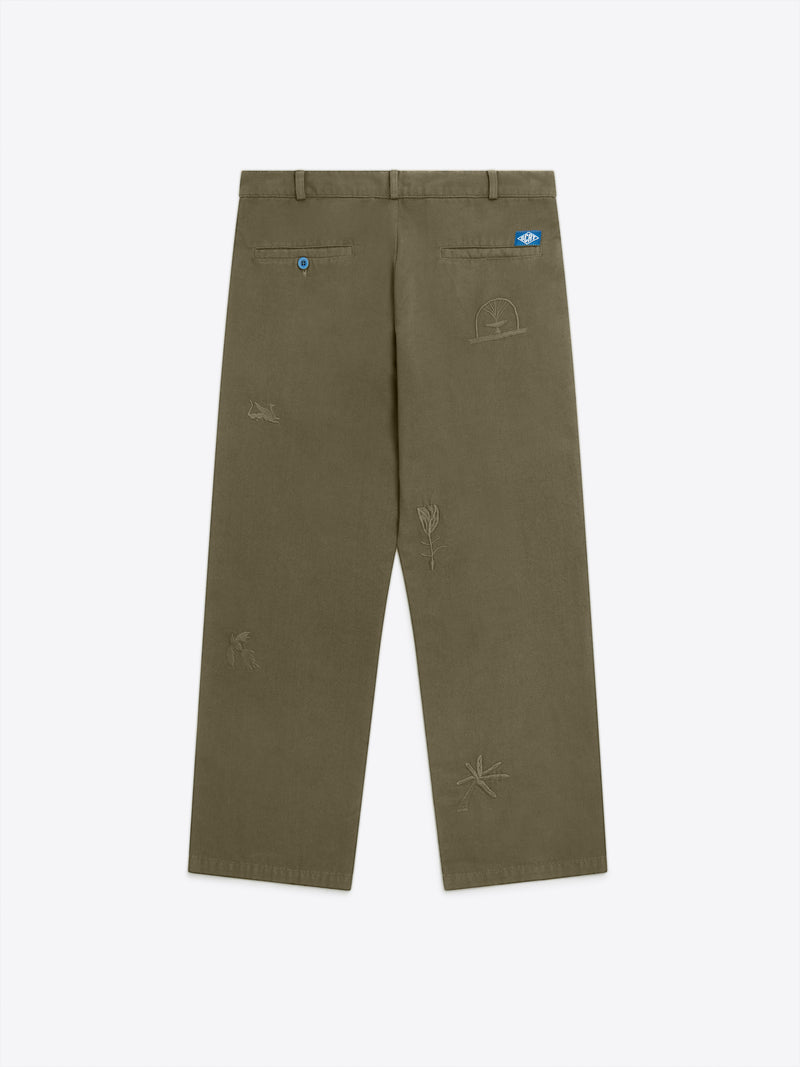 Paix Trousers - Moss