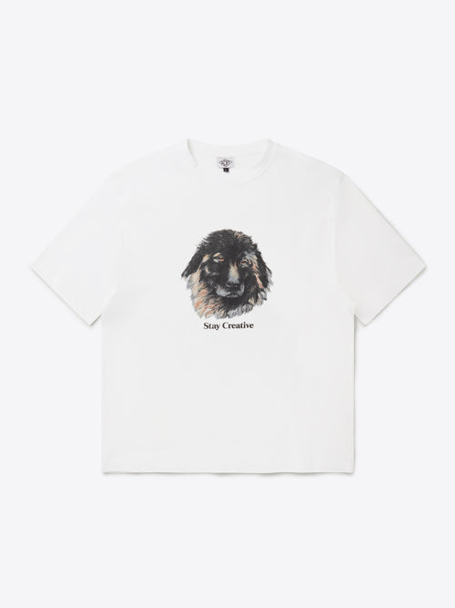 Bo The Dog T-Shirt - White
