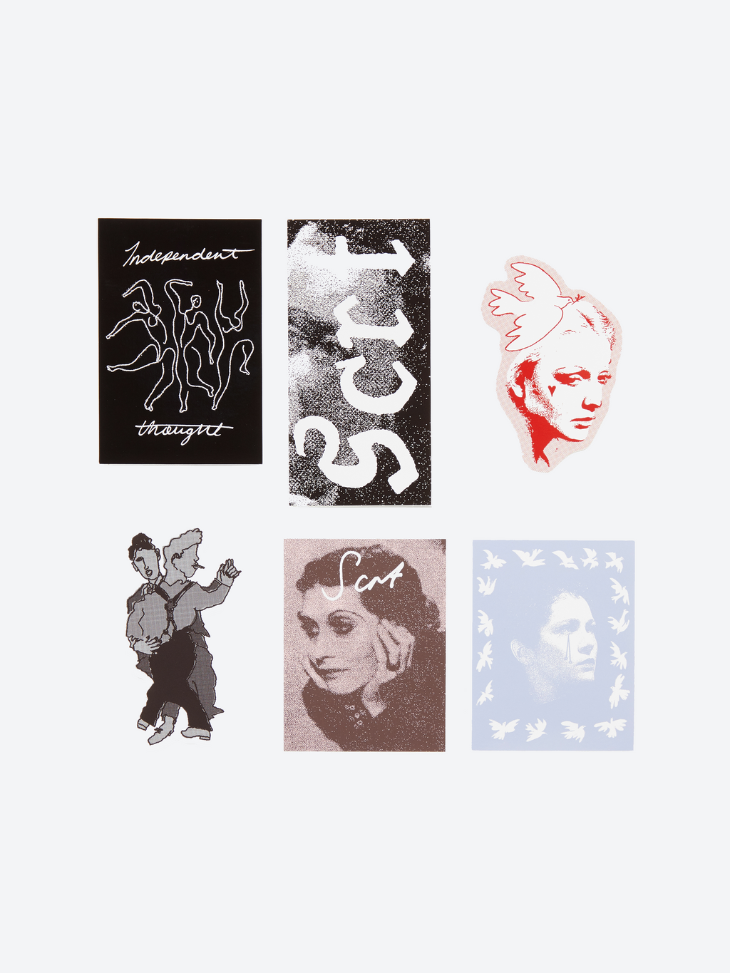Dora Maar Sticker Pack