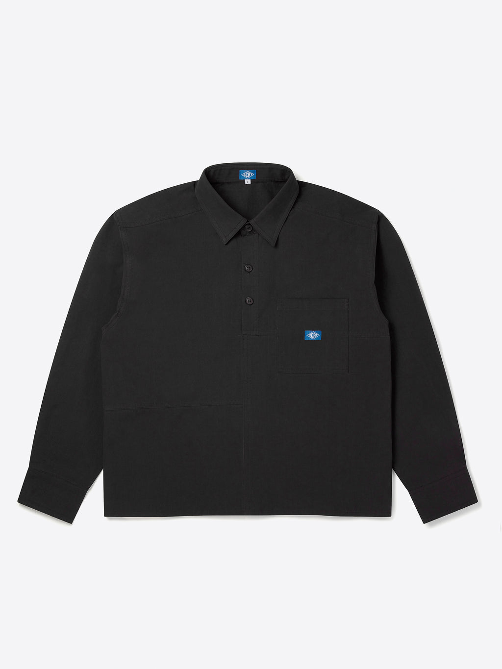 Flowers Overshirt - Black