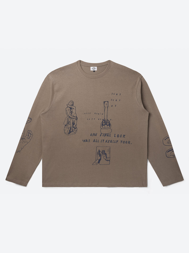 Storylines Long Sleeve - Fossil
