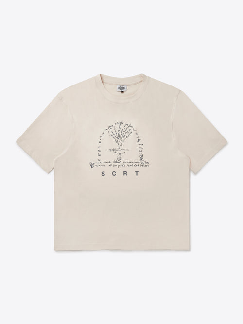Fountain T-Shirt - Crystal Grey