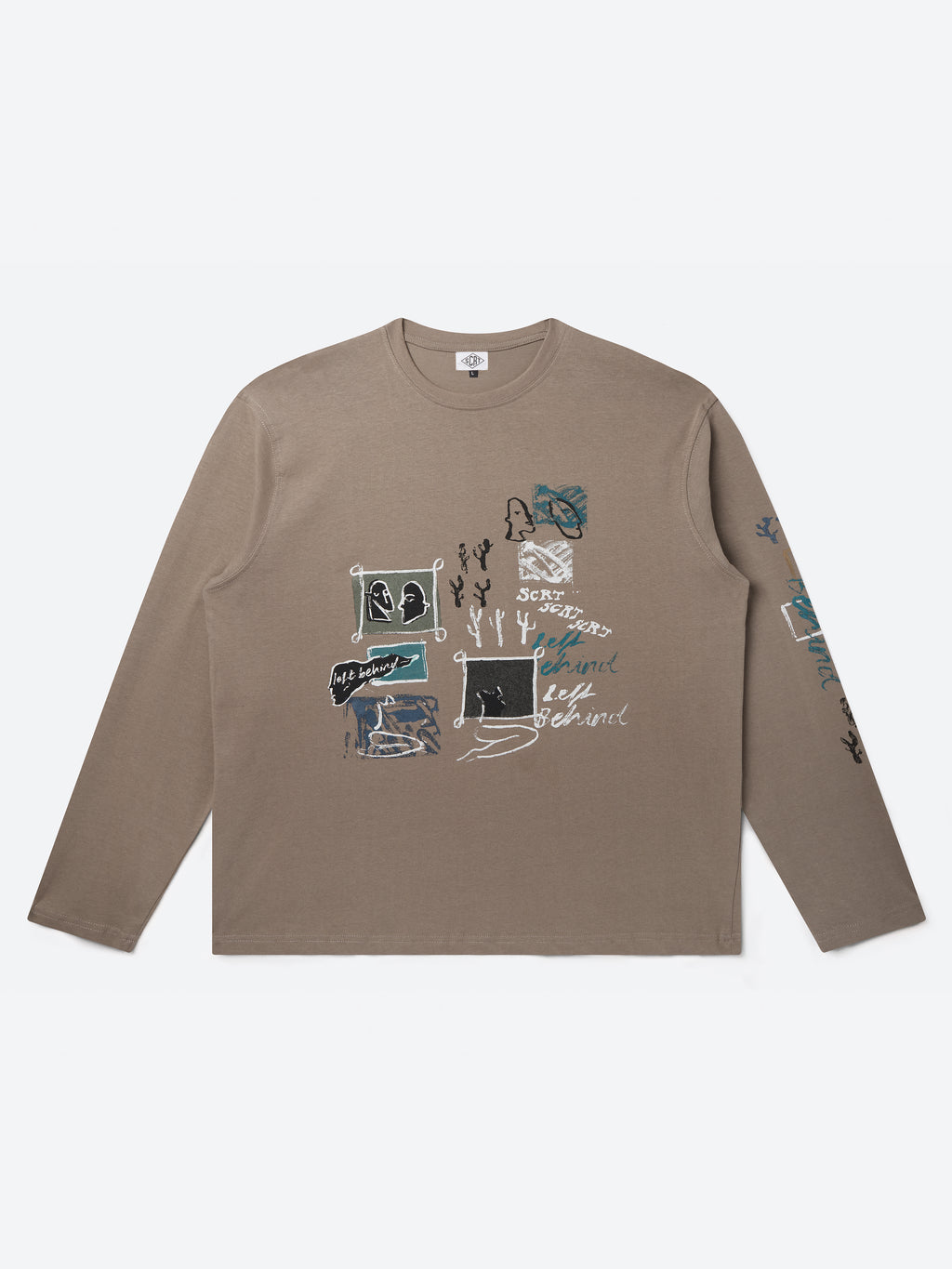 Inky Long Sleeve - Fossil