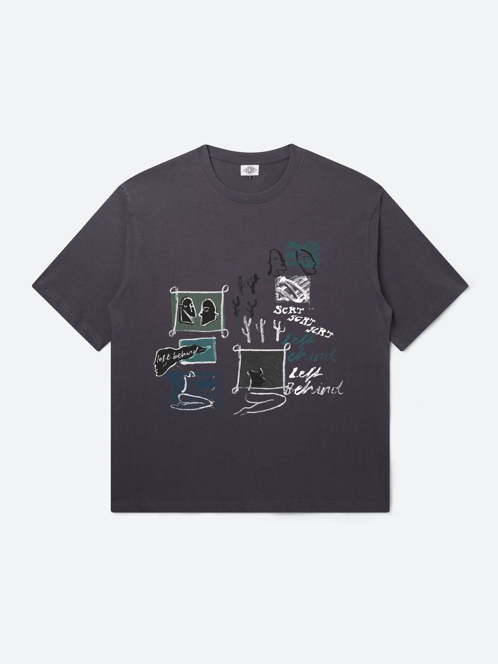 Inky T-Shirt - Nine Iron