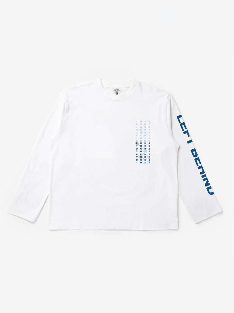 Left Behind Long Sleeve - White