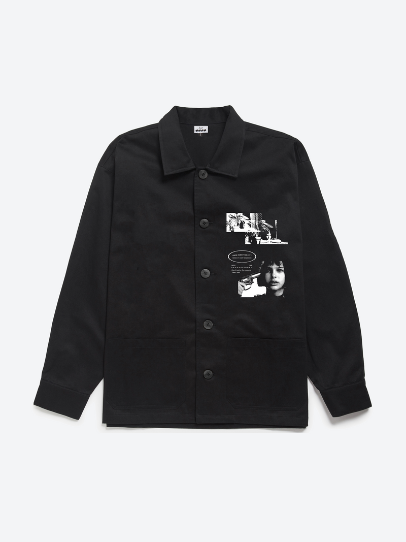 Léon Revisited Overshirt - Black