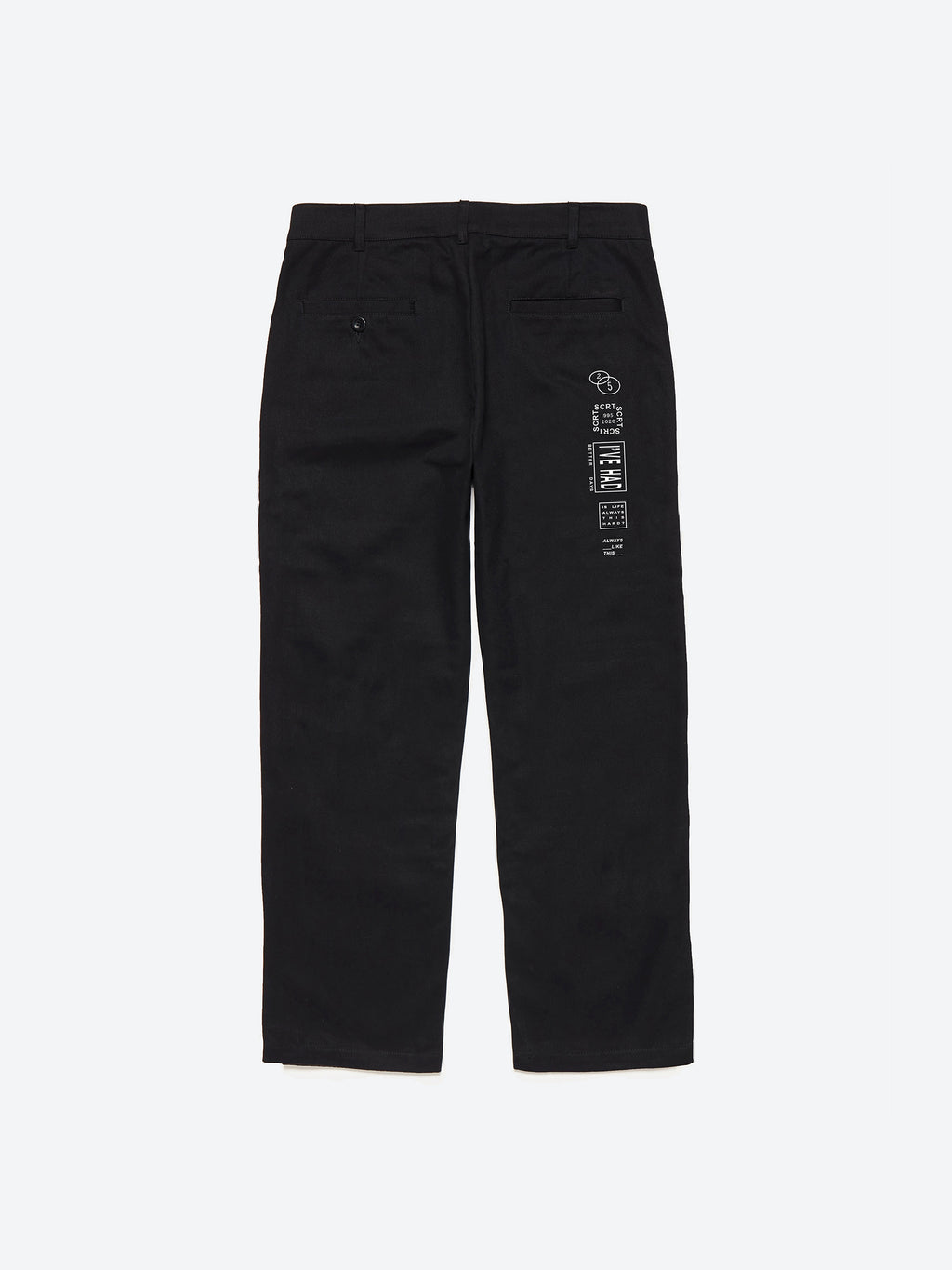 Léon Revisited Trousers - Black