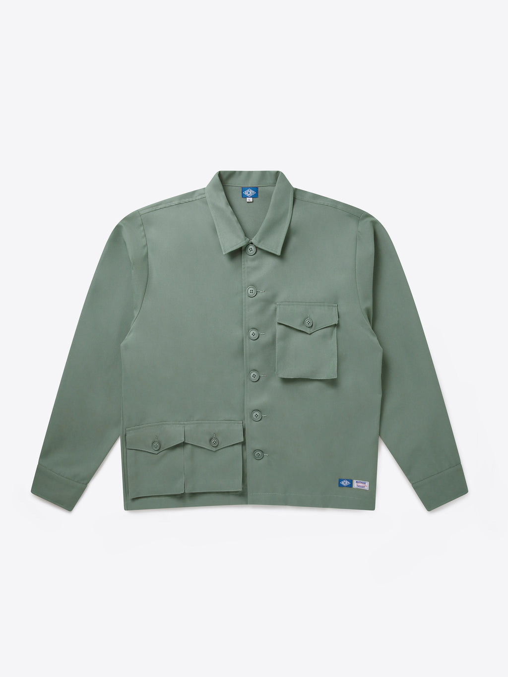 Pocket Set Overshirt - Limestone