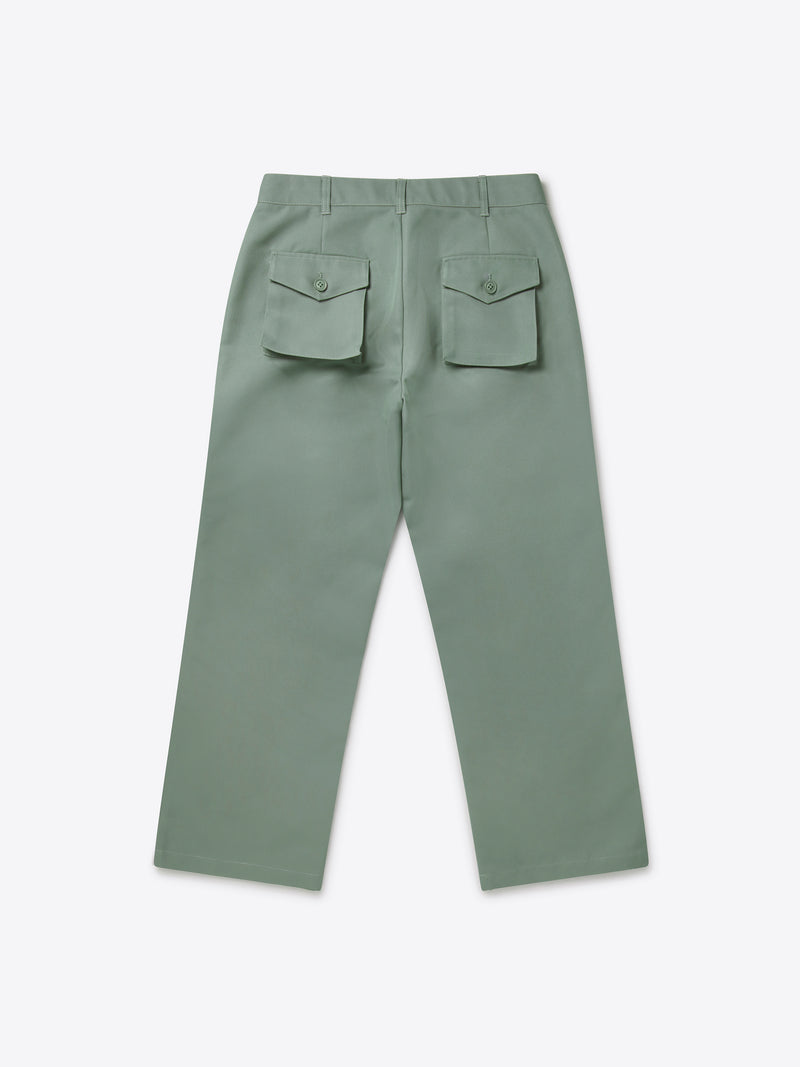Pocket Set Trousers - Limestone