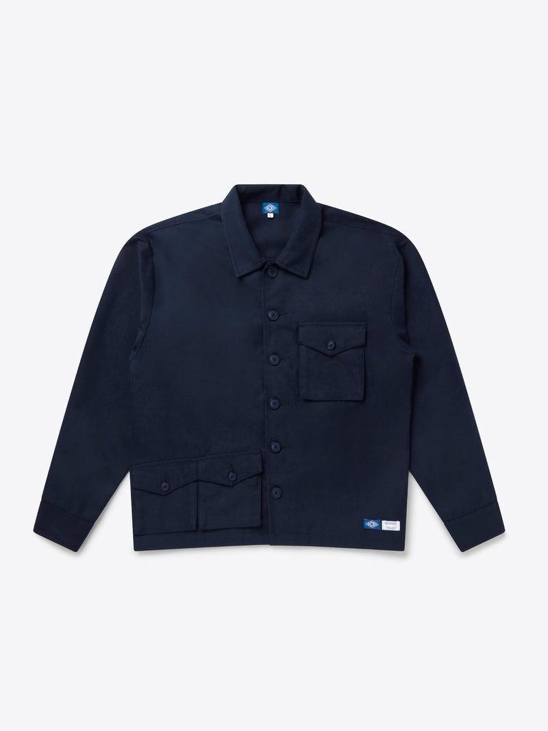 Pocket Set Overshirt - Prussian