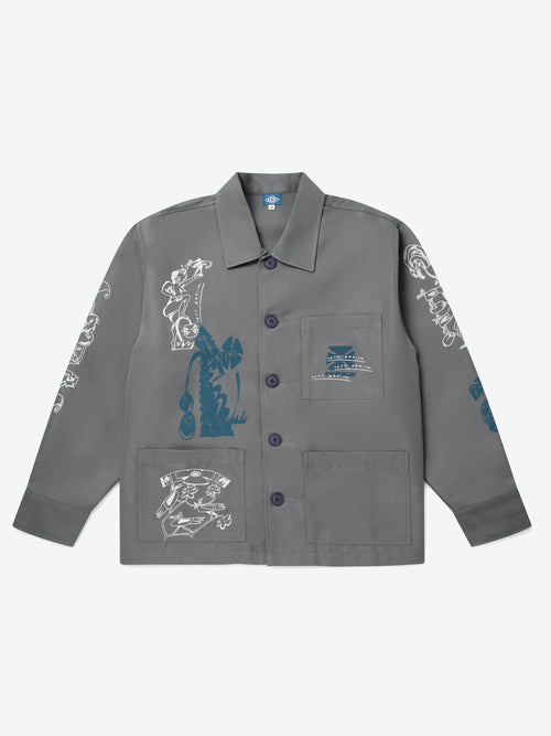 Posthuman Overshirt - Grey