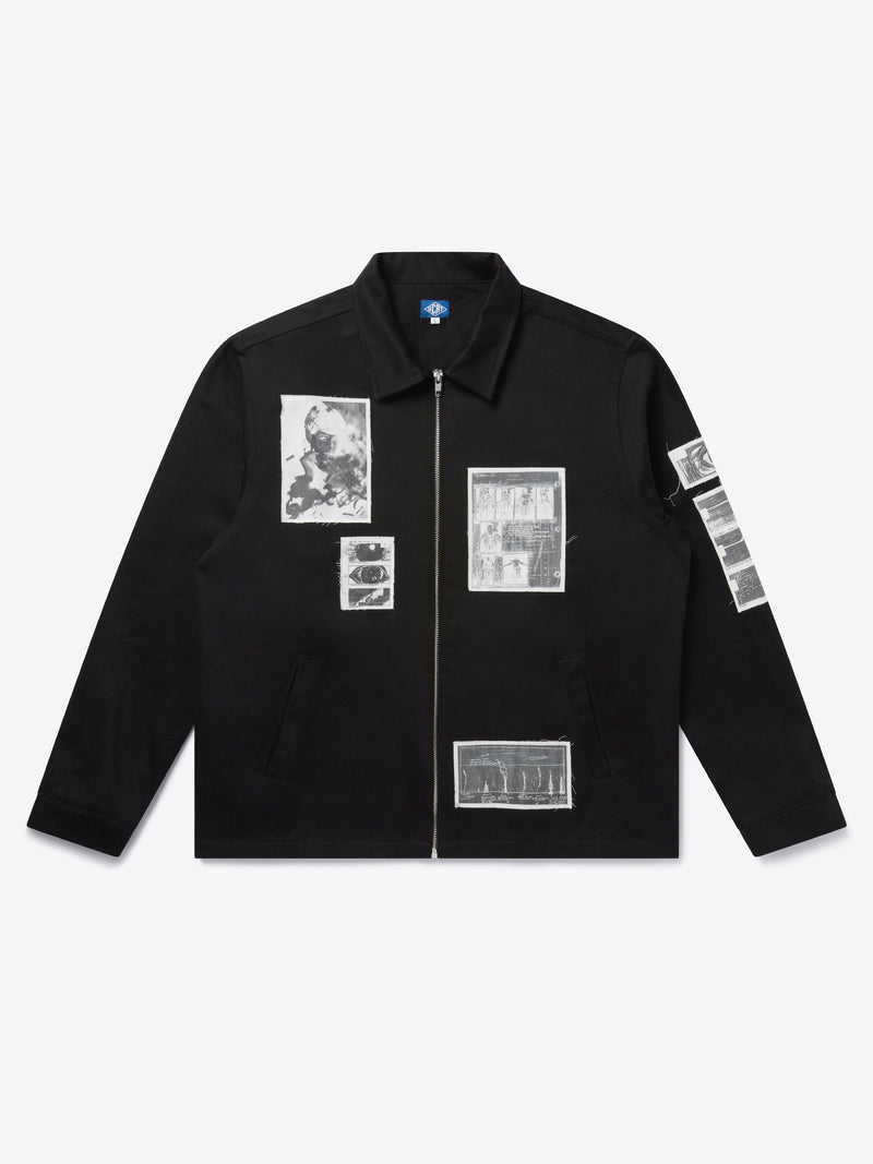 Nexus Patch Jacket - Black