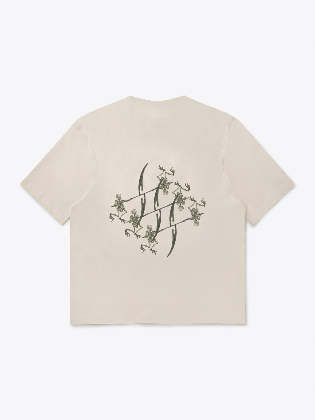Seven Circles T-Shirt - Crystal Grey