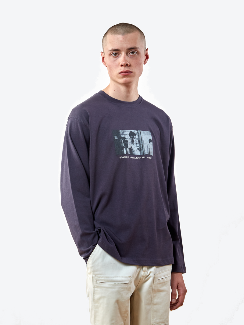 Real Rain Long Sleeve T-Shirt - Nine Iron