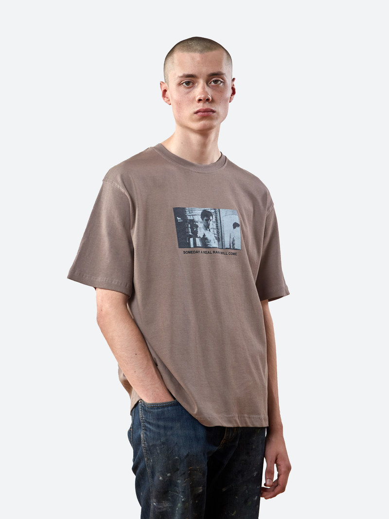 Real Rain T-Shirt - Fossil