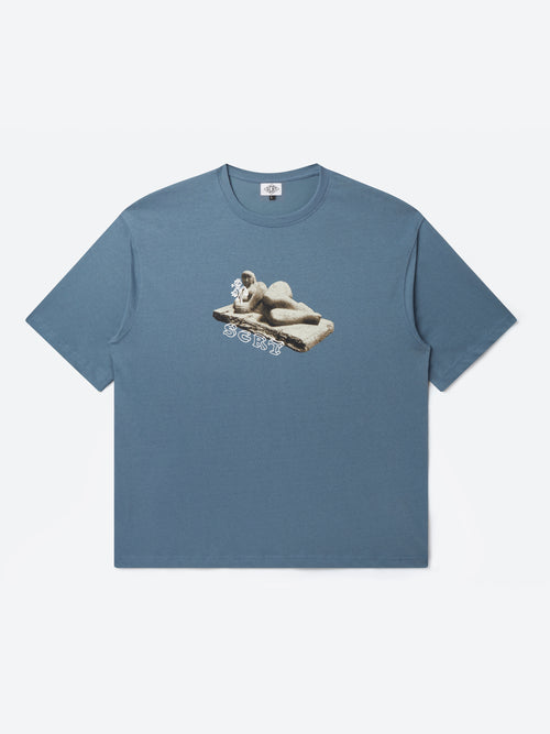 Sculpture T-Shirt - China Blue