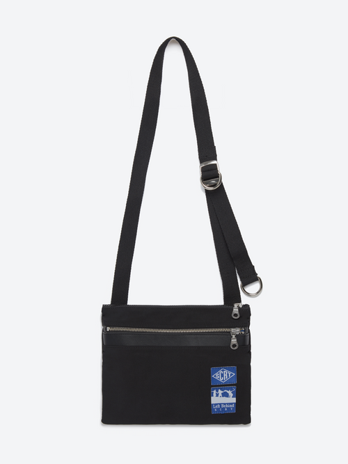 Crossbody Messenger Bag - Black