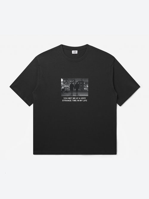 Strange Time T-Shirt - Black